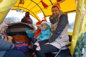 Weihnachtskutsche fahren mit Mandy